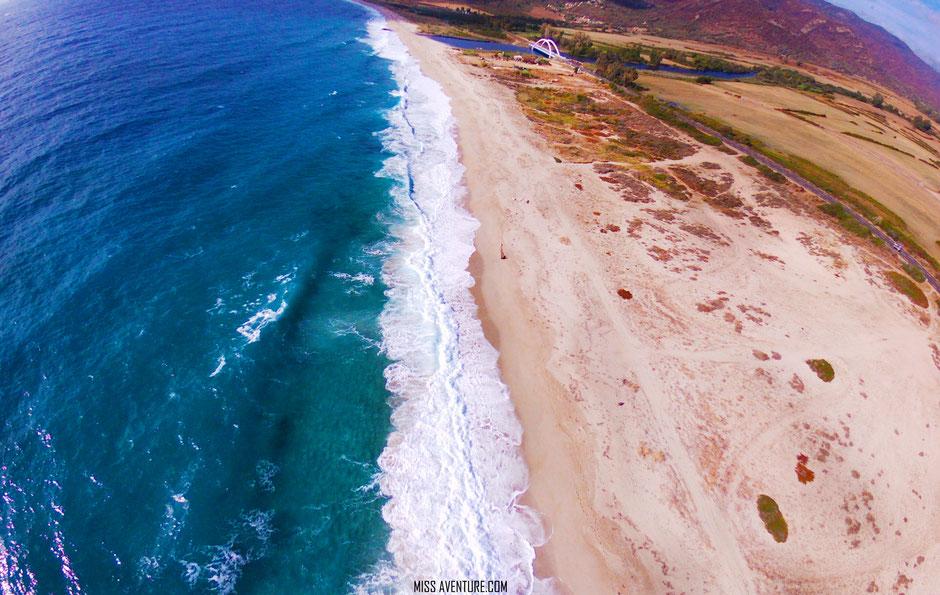 TOP 10 plus belles plages corses. PLAGE DE LIAMONE. www.missaventure.com. blog voyage d'aventures nature et photos. Road Trip Corse du Nord au Sud.