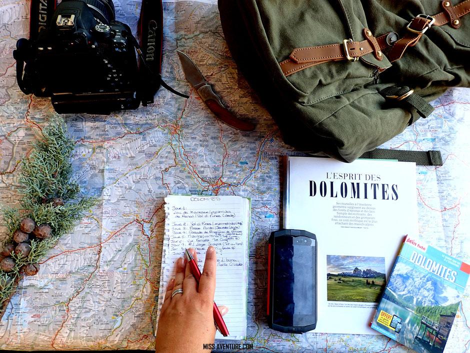 road trip DOLOMITES, itineraire, budget et infos. www.missaventure.com blog voyage d'aventures, nature et photos