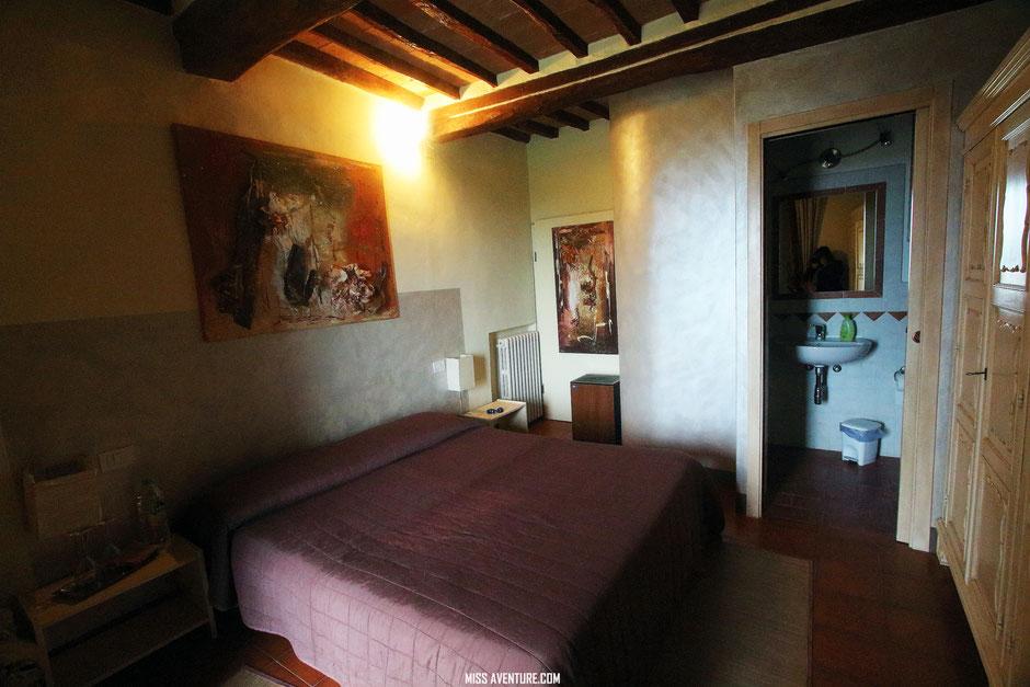 Road trip en Toscane, lOGEMENT (ITALIE)/ www.missaventure.com. blog voyage d'aventures, nature et photos