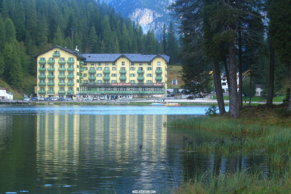 Lles lacs de Misurina et Antorno; Road trip dans les Dolomites (Italie) www.missaventure.com blog voyage d'aventures, nature et photos