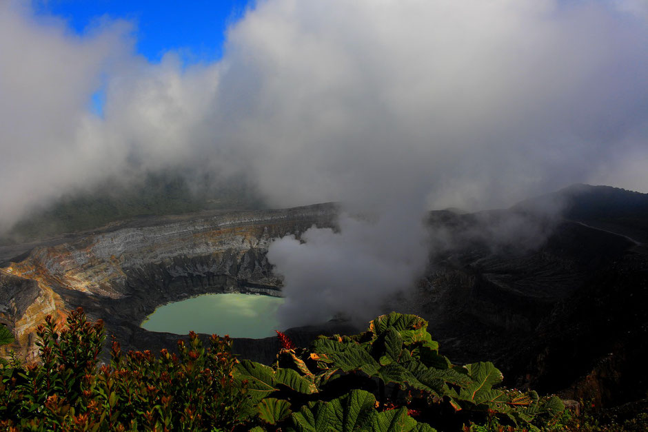 Volcan Poas, Road trip de 3 semaines au COSTA RICA. www.missaventure.com blog voyage d'aventure, nature et photos