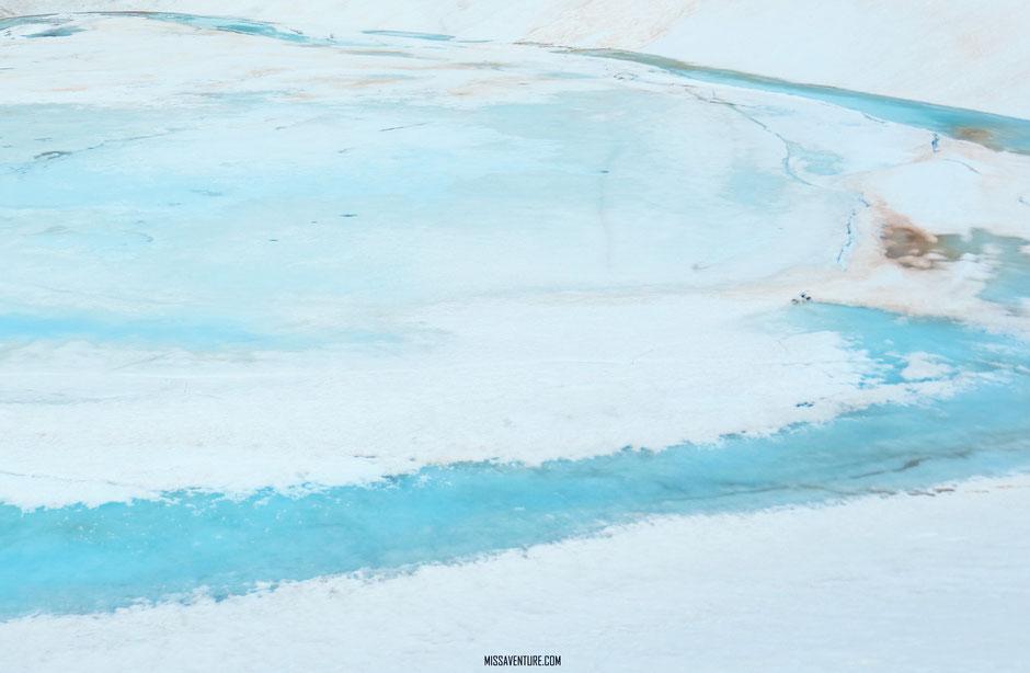 Randonnée et bivouac dans le Mercantour, lac gelé de la petite cayolle, allos. www.missaventure.com blog voyage d'aventures, nature et photos.