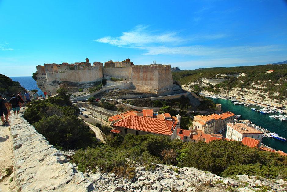 Bonifacio, CORSE. sentier campu romanilu. www.missaventure.com blog voyage d'aventures nature et photos. Road Trip Corse du Nord au Sud