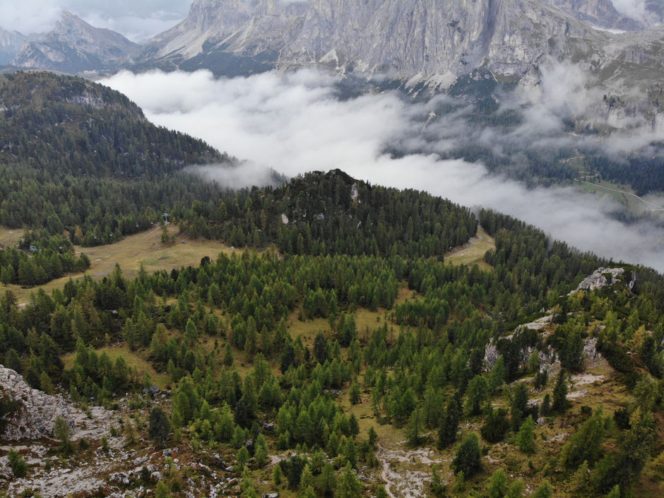 Les Cinque Torri et la via ferrata Averau, Road trip dans les Dolomites (ITALIE) www.missaventure.com blog voyage d'aventures, nature et photos