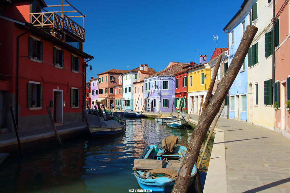 Découverte de Venise et ses iles (ITALIE) BURANO. www.missaventure.com blog voyage d'aventures, nature et photos.