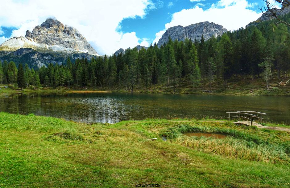 Les lacs de Misurina et Antorno; Road trip dans les Dolomites (Italie) www.missaventure.com blog voyage d'aventures, nature et photos