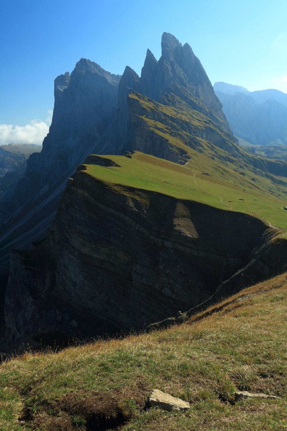 Road trip dans les Dolomites (ITALIE), Seceda. www.missaventure.com blog voyage d'aventures nature et photos