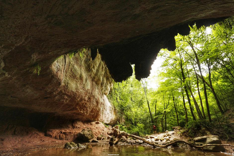 La cascade de gourbachin, PROVENCE  (FRANCE). www.missaventure.com blog d'aventures, nature et reflexions green.