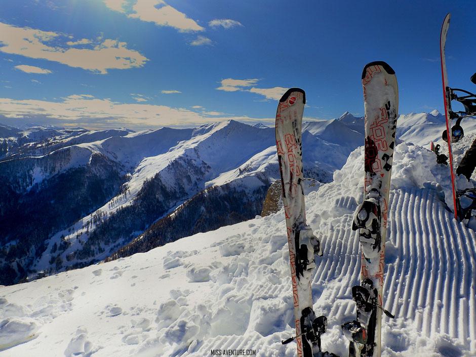 Pra Loup, week end sport et nature, sur les pistes!. www.missaventure.com blog voyage d'aventures nature et photos.