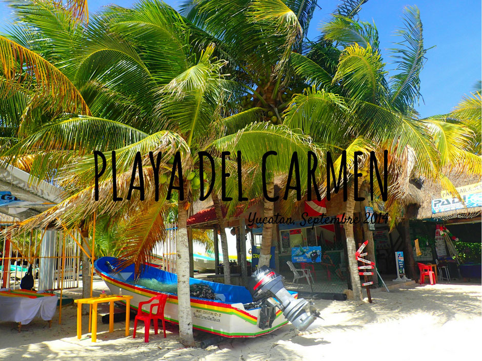 PlayaDel Caremen, plage.Yucatan.MEXIQUE. missaventure blog