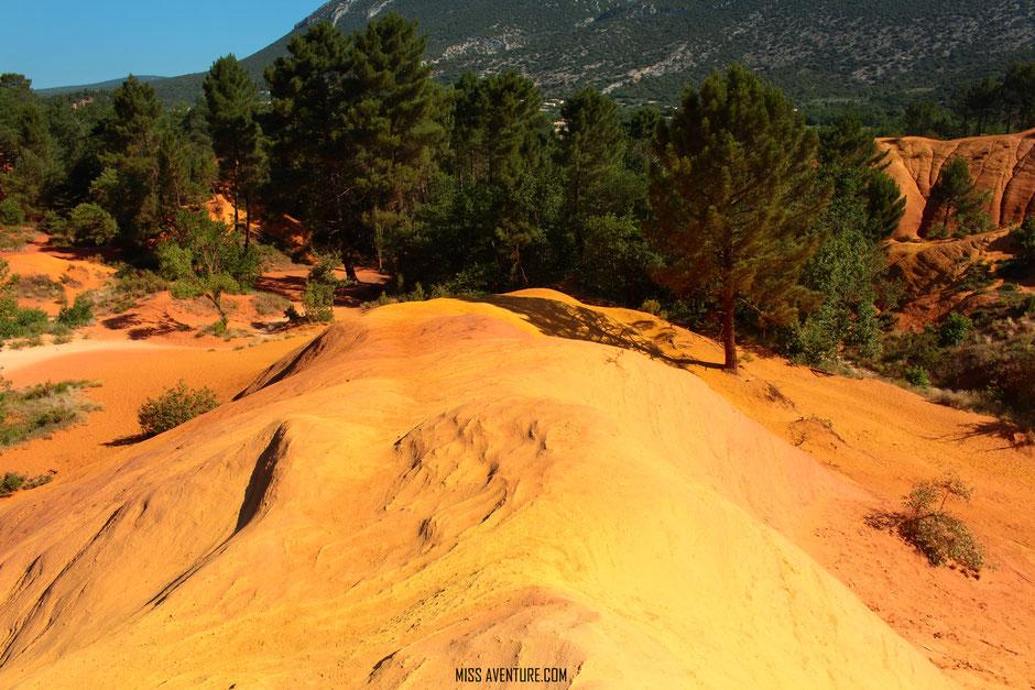 Colorado provençal, VAUCLUSE. www.missaventure.com. blog aventures, nature et photos