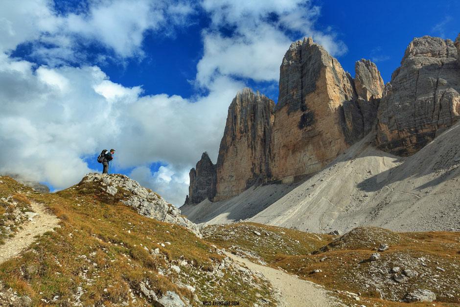 Randonnée et bivouac aux Tre Cime, Road Trip Dolomites (ITALIE) www.missaventure.com blog voyage d'aventures, nature et photos