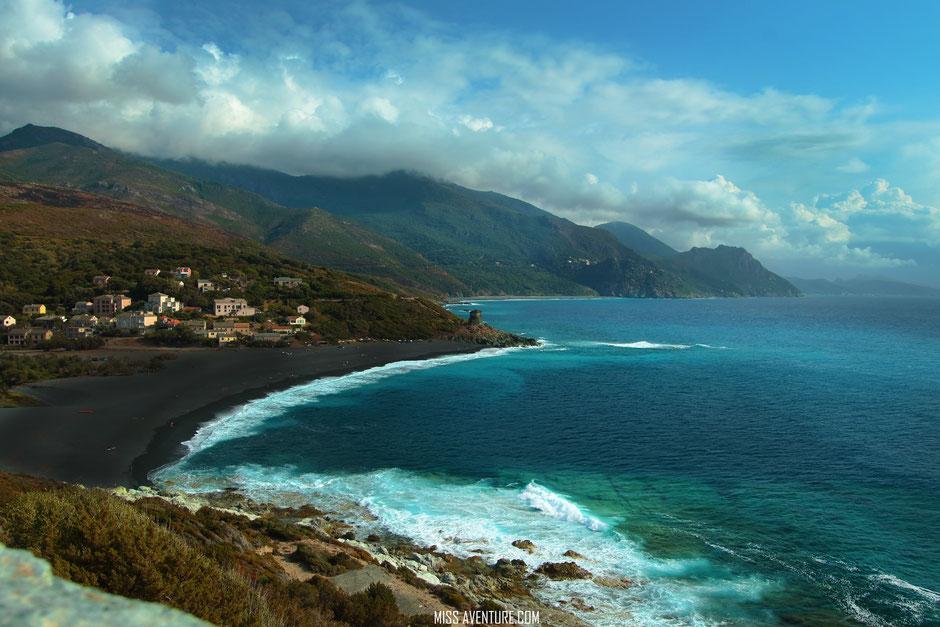 Plage d'Albo. cap corse. www.missaventure.com. blog aventures, nature et photos. road trip corse du Nord au sud