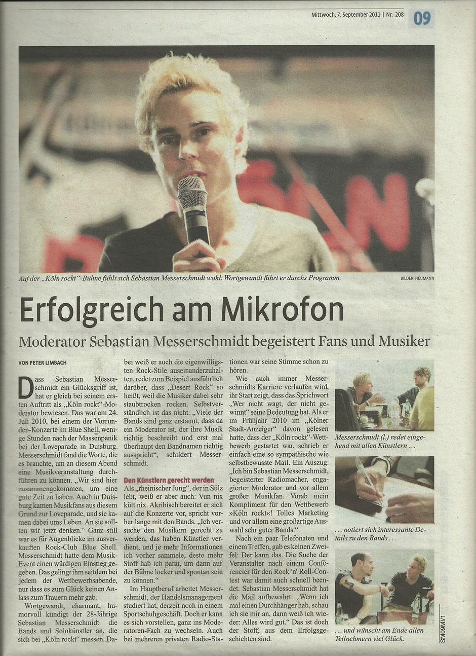 Sonderbeilage Köln rockt 2011