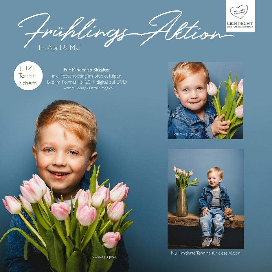 Fotograf Erzgebirge, Fotoshootings Erzgebirge, Fotos mit Tulpen, Tulpen, Kinder, Kids, Fotoshooting, Fotostudio Lichtecht, Fotograf Erzgebirgskreis