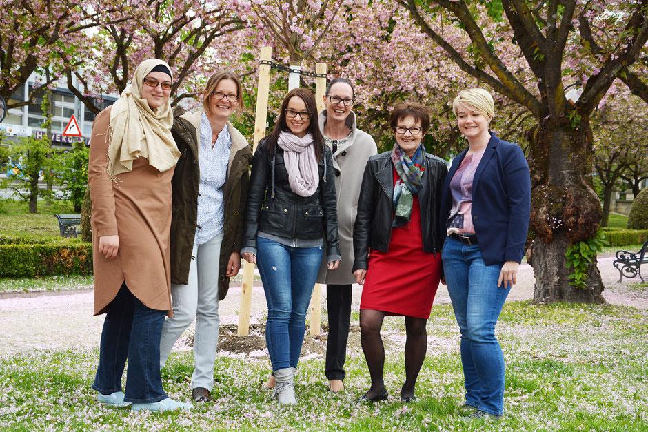 Vorstand Projektgruppe Frauen 2017