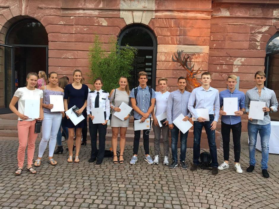 Erfolgreiche Schwimmer des SC Wiesbaden / Bild: Oliver Großmann