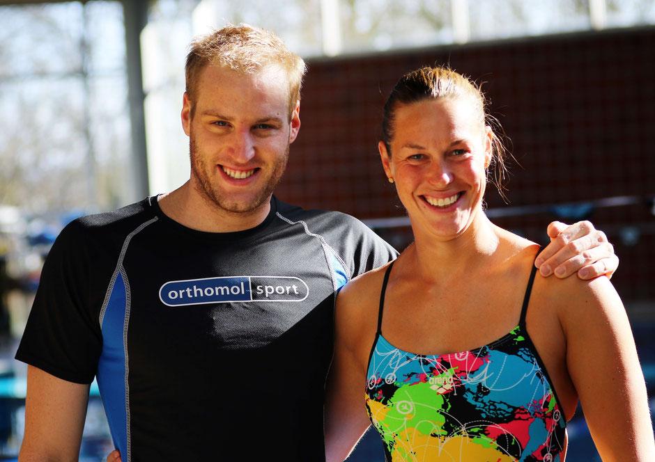 Christian Reichert und Jenny Mensing vom SC Wiesbaden / Bild: thesportpicturepage.com