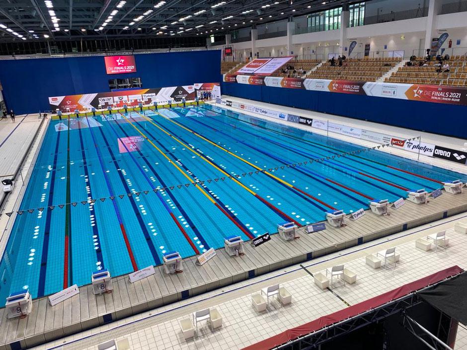 SSE Schwimm- und Sprunghalle Berlin / Bild: Oliver Großmann
