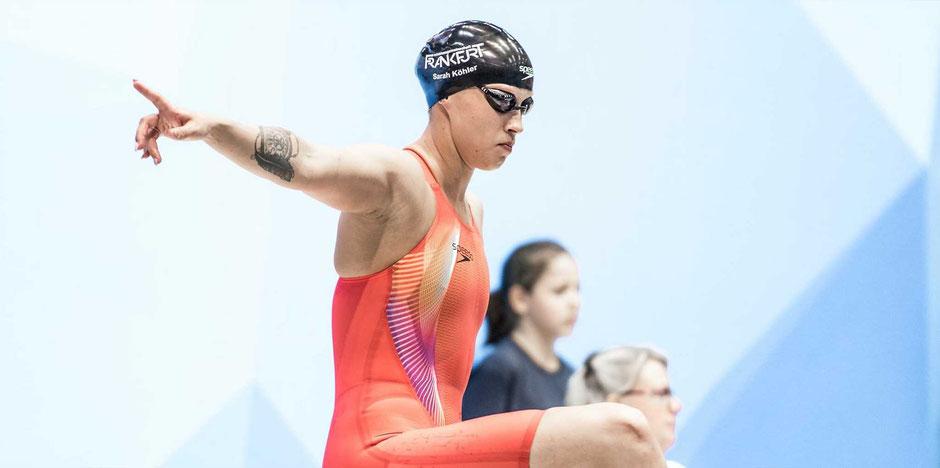 Welrekord 1500m Freistil Sarah Köhler (SG Frankfurt) / Bild: M. Seifert