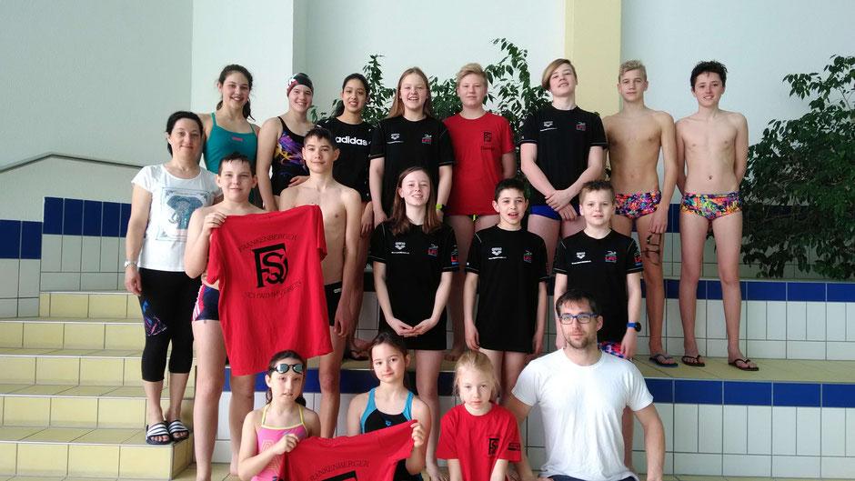 Frankenberg SV und Wassersport-Hünfeld / Foto: Swimsportnews-Hessen