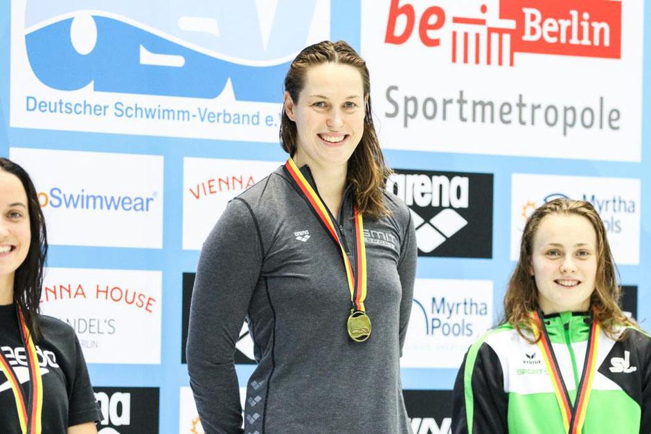 Deutsche Meisterin 2019 auf 200m Rücken Jenny Mensing (SC Wiesbaden) / Bild: SC Wiesbaden