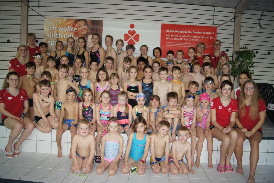 Seepferdchengruppe TV Dillenburg 2018 / Foto: Ralf Hermann