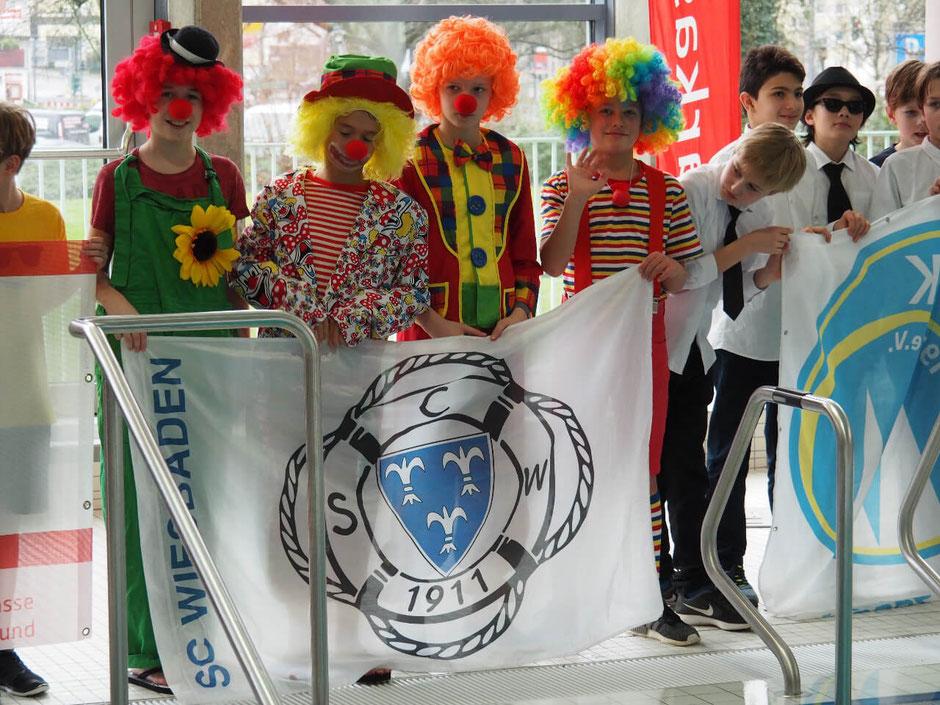 Die Mannschaft des SC Wiesbaden / Foto: Christoph Eichler