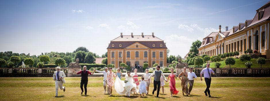 Hochzeit im Barockgarten Großsedlitz, Hochzeitsfotograf Dresden