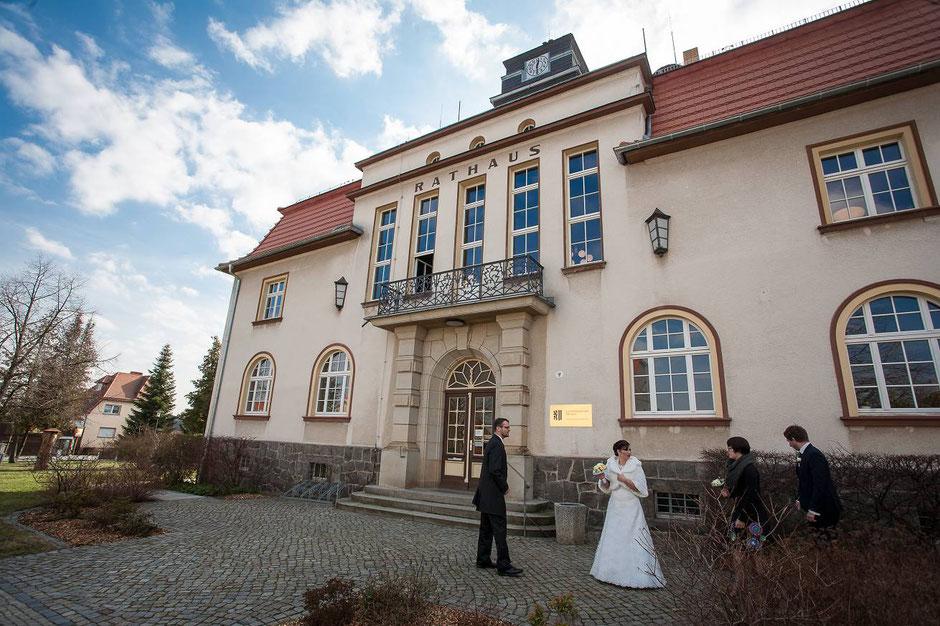 Hochzeit Rathaus Weixdorf, Hochzeitsfotograf Dresden