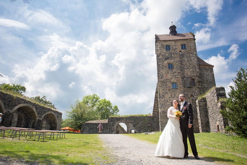 Hochzeitsfotograf Burg Stolpen, Heiraten Burg Stolpen, Hochzeit auf der Burg Stolpen, Hochzeitsfotos Stolpen, Heiraten Kornkammer Burg Stolpen