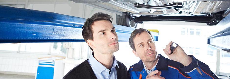 Ford Wartung und Inspektion