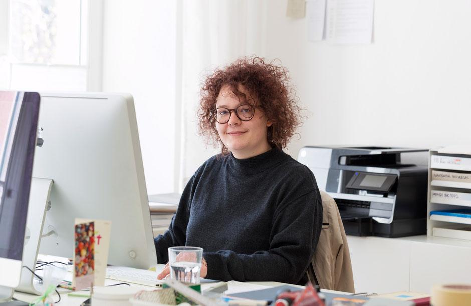 Stefanie Probst – neu im Team – Typografie und Buchgestaltung