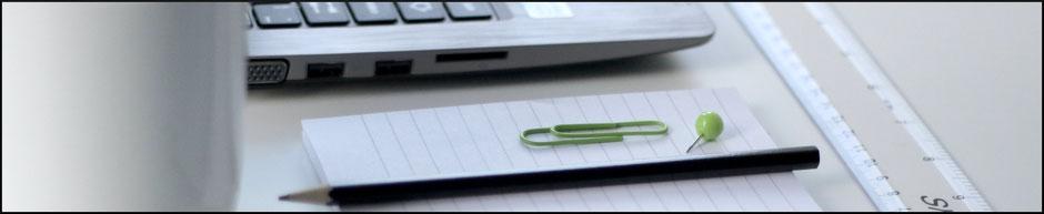 Webtexte und grafisches Schreiben richtig planen