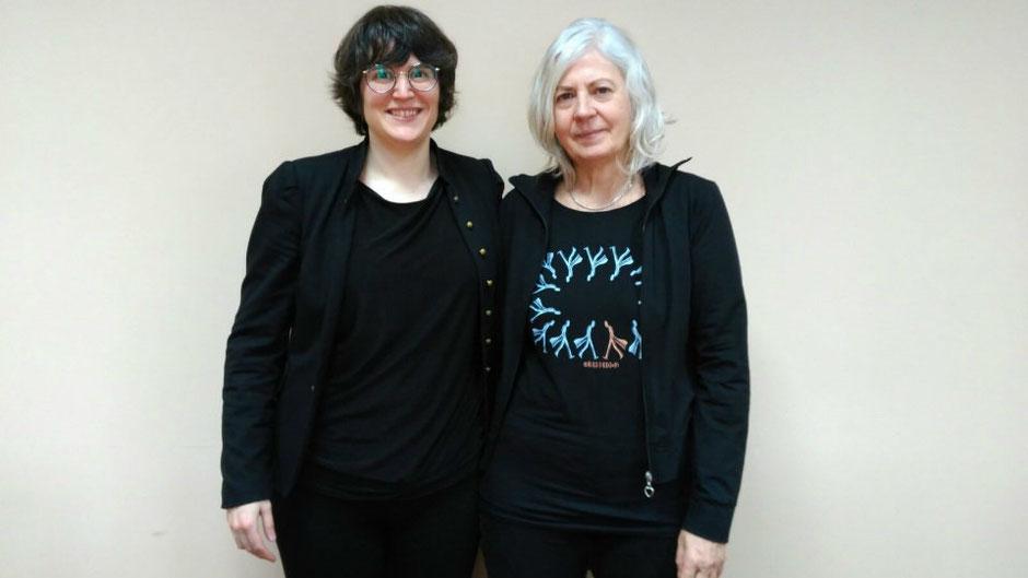 Las ilustradoras Carla Berrocal y Teresa Novoa