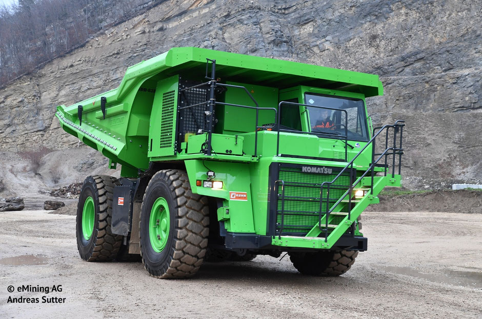 electric dumper by eMining AG