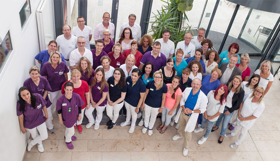 Das Team von Global Health Management