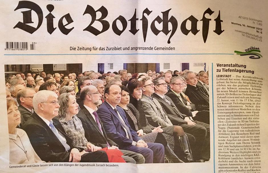 Foto: Gemeinderat, Gastredner und Publikum (c) Lovey Wymanns Schreib-Lounge