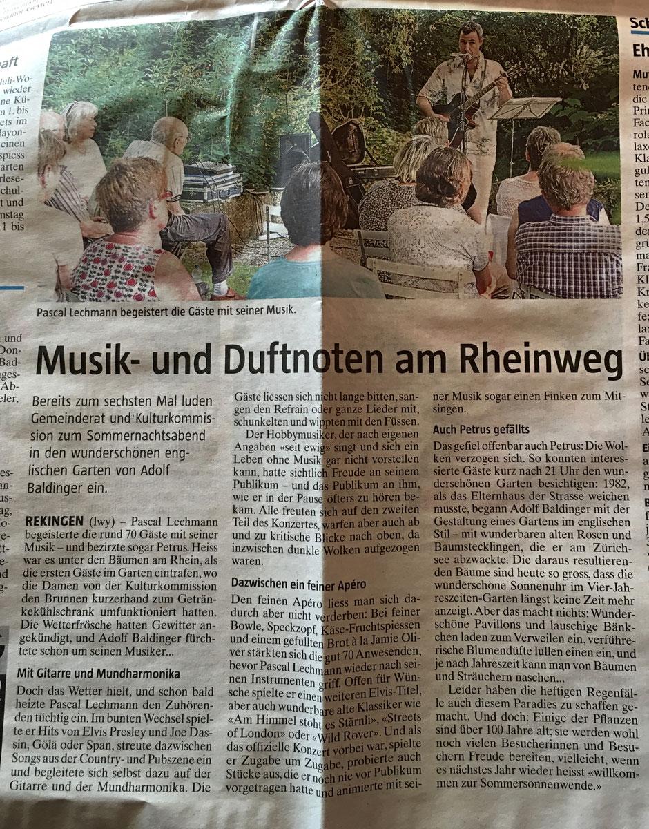Artikel aus der Botschaft, von Lovey Wymann, www.schreib-lounge.ch
