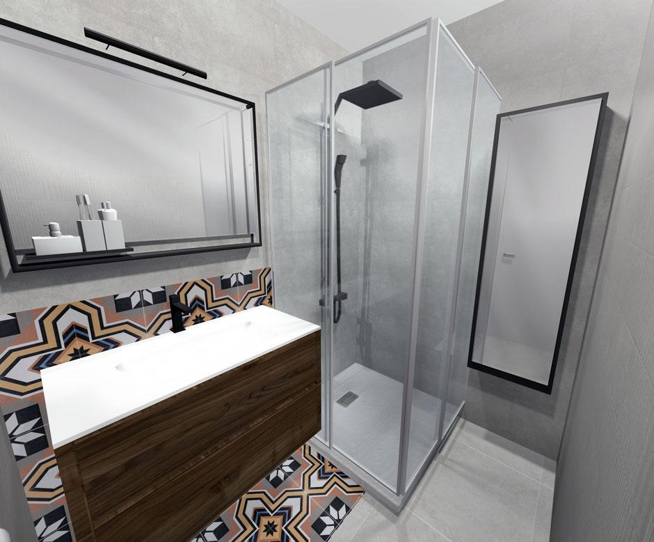 Espace salle de bain CASEO TERVILLE