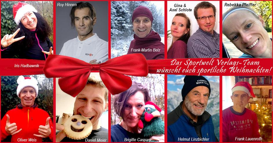 Das Team des Sportwelt Verlags wünscht euch sportliche Weihnachten