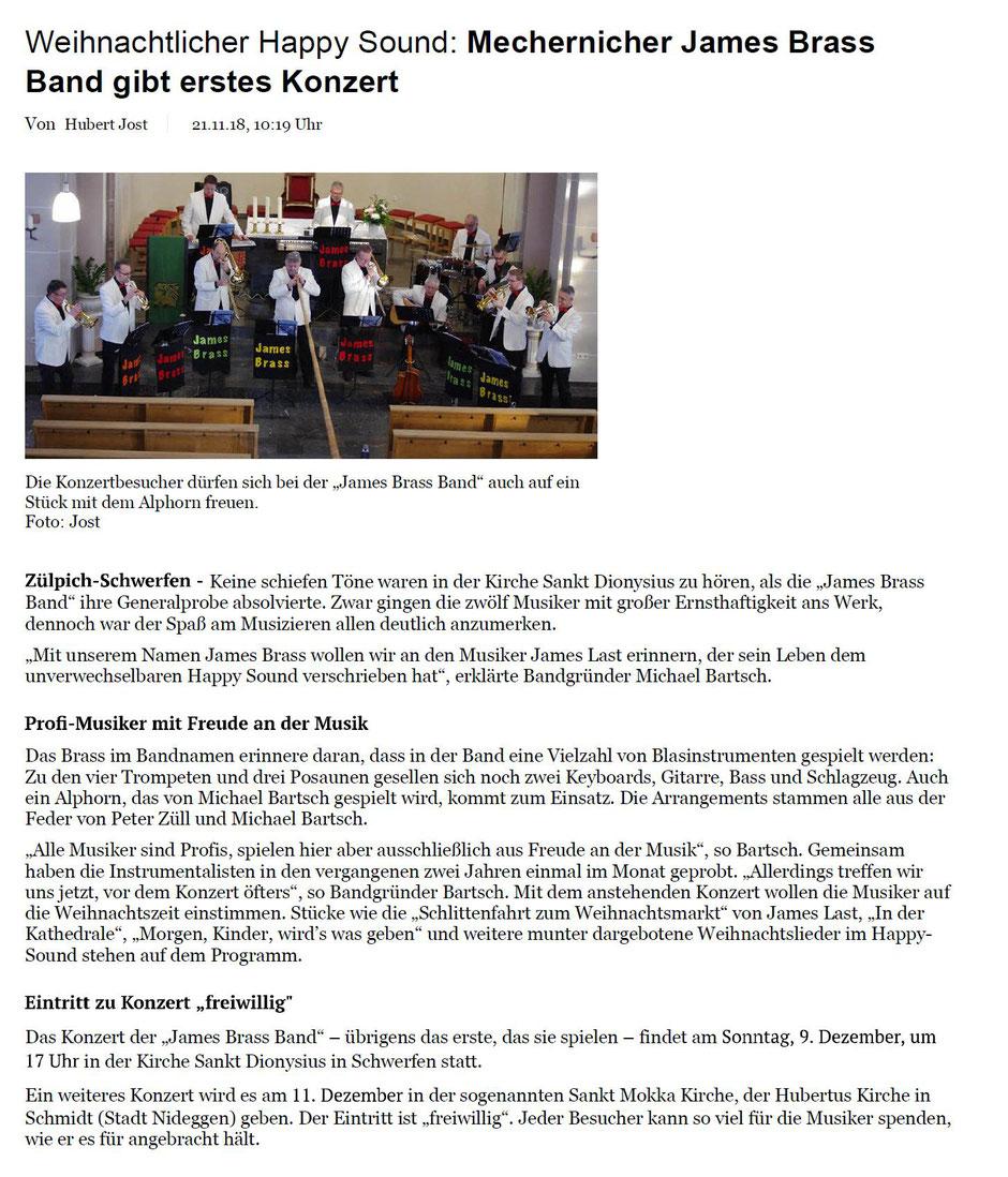 Alphorn Weihnachtslieder.Zum Nachlesen Für Sie Artikel über Uns James Brass Band Aus