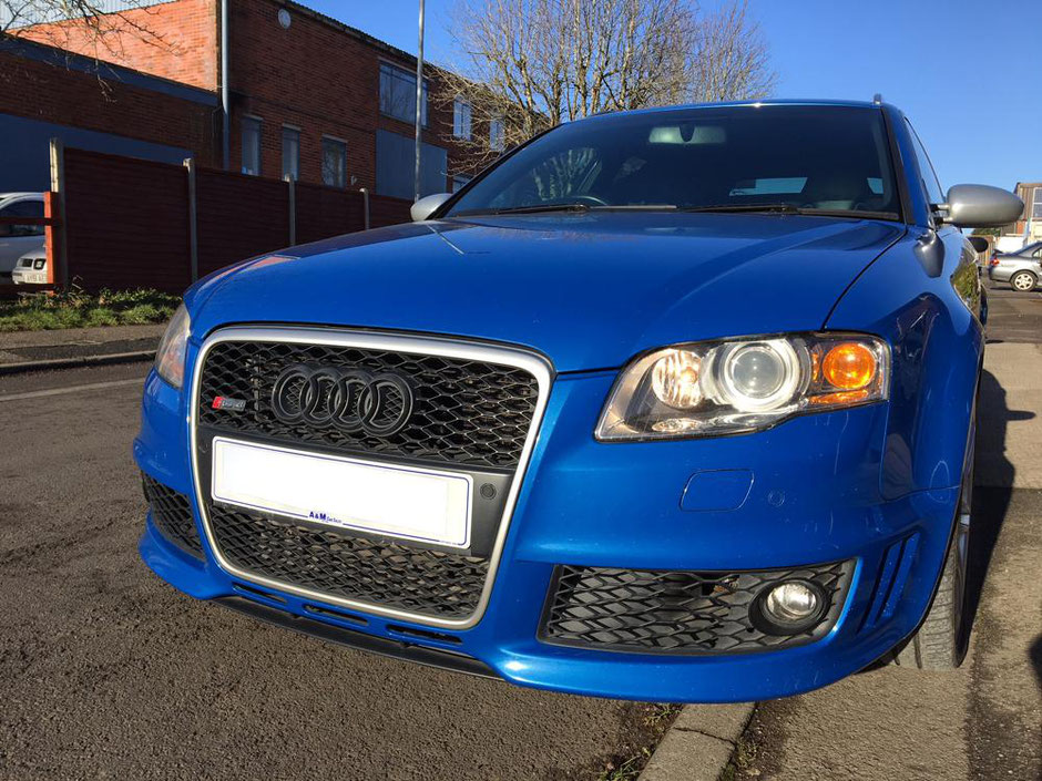 Audi RS4 Before Damage Repair and Customisation | Precision Paint | Wellington Somerset