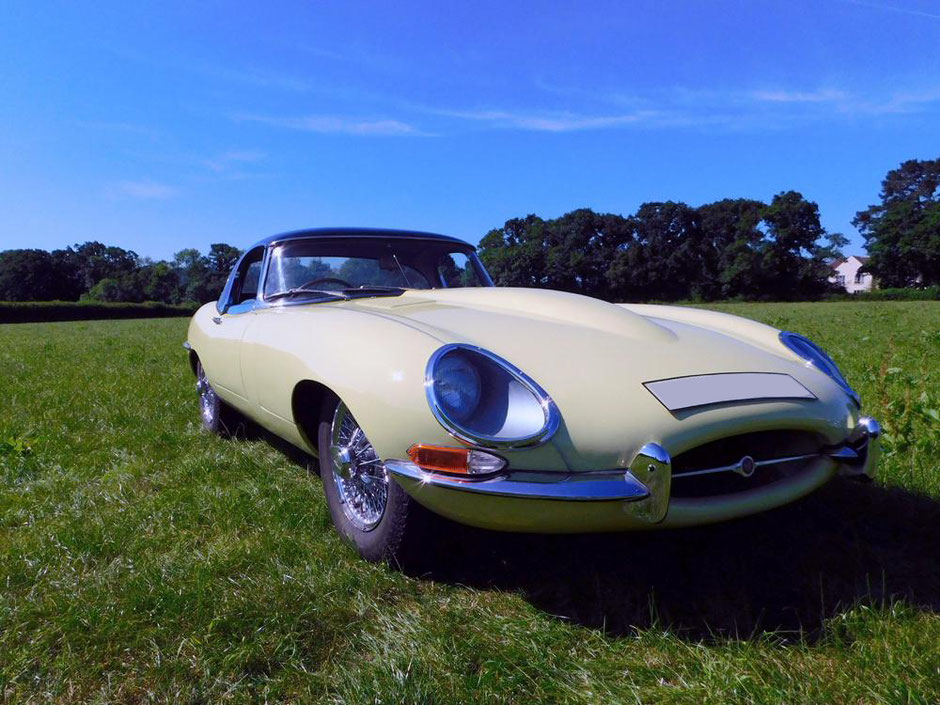 Jaguar E-Type Full Body Respray - The finished article | Precision Paint Wellington