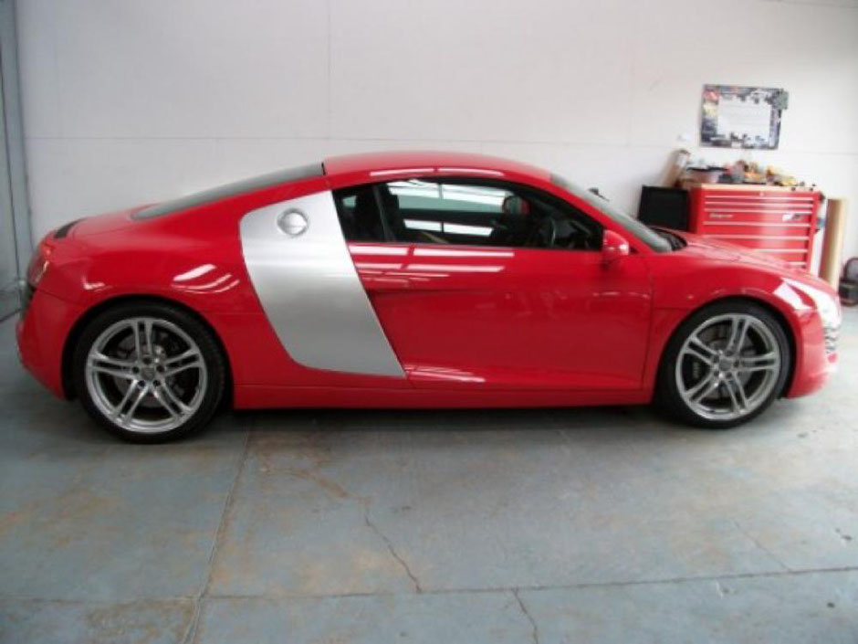 Finished Audi R8 Full Body Respray  | Precision Paint | Wellington