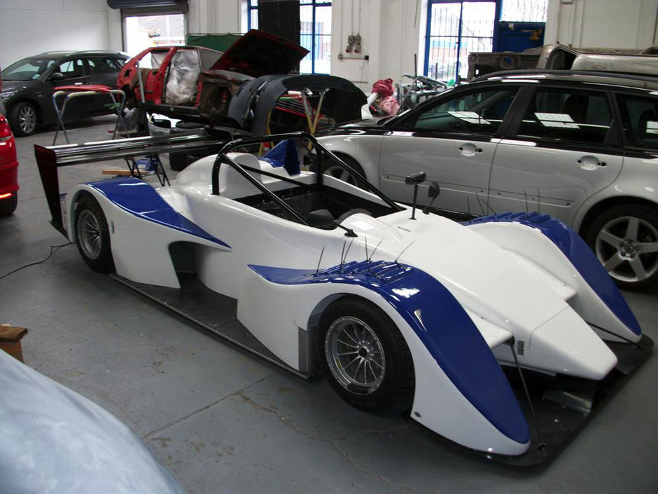 Juno - Formula 1 Race Car, Pre-Season Body and Paintwork Preparation completed by Precision Paint, Wellington, Somerset