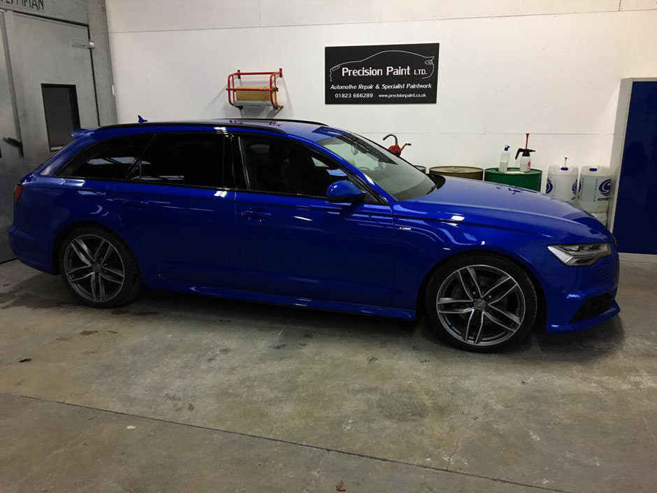 Audi RS6 Light Damage Repair | Finished Work | Precision Paint | Wellington | Somerset
