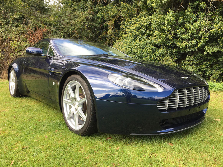 Aston Martin V8 Vantage (Early 2006) - Returned back to it's former glory by Precision Paint, Wellington