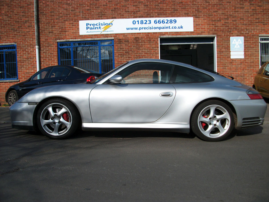 Porsche Completed 11 April 2012 | Precision Paint Wellington