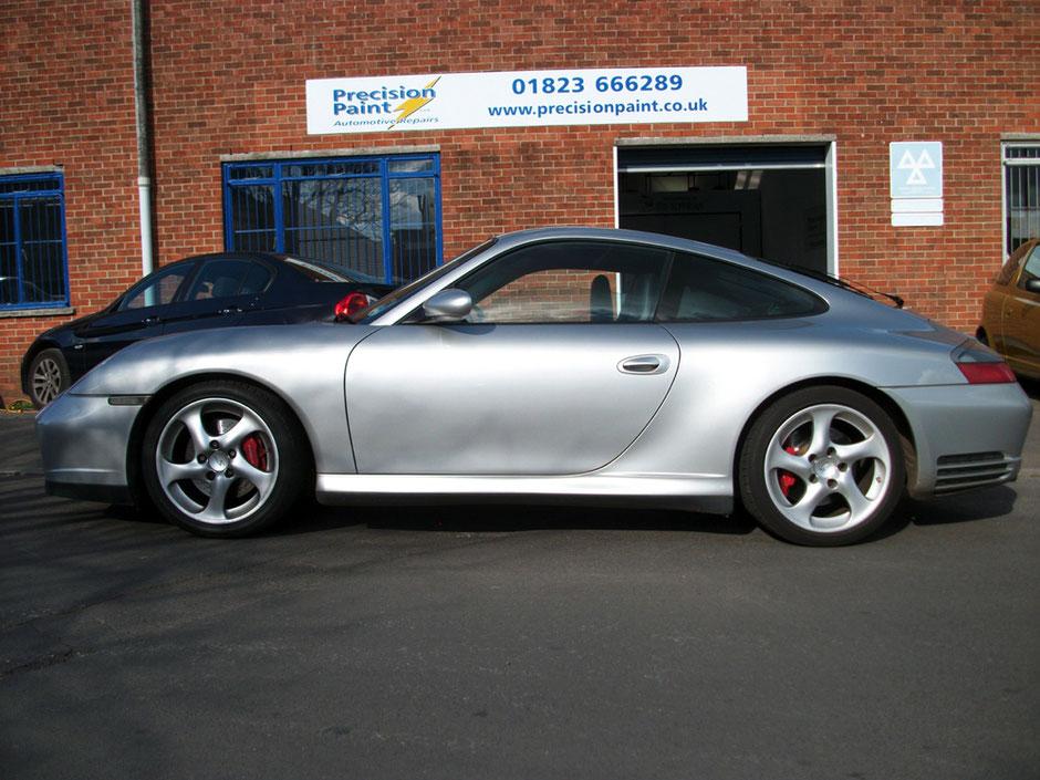 Porsche Completed 11 April 2012 | Precision Paint Wellington